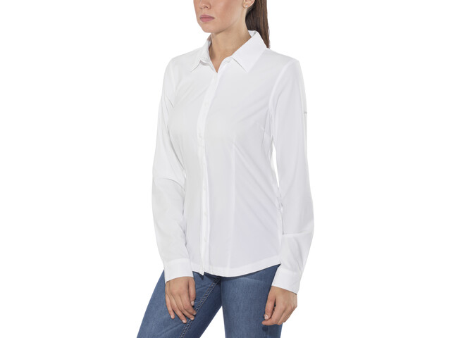 Columbia Saturday Trail Stretch LS Shirt Women white